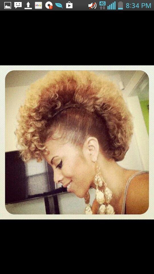 clipart Bananna clip mohawk. Banana hair styles beauty