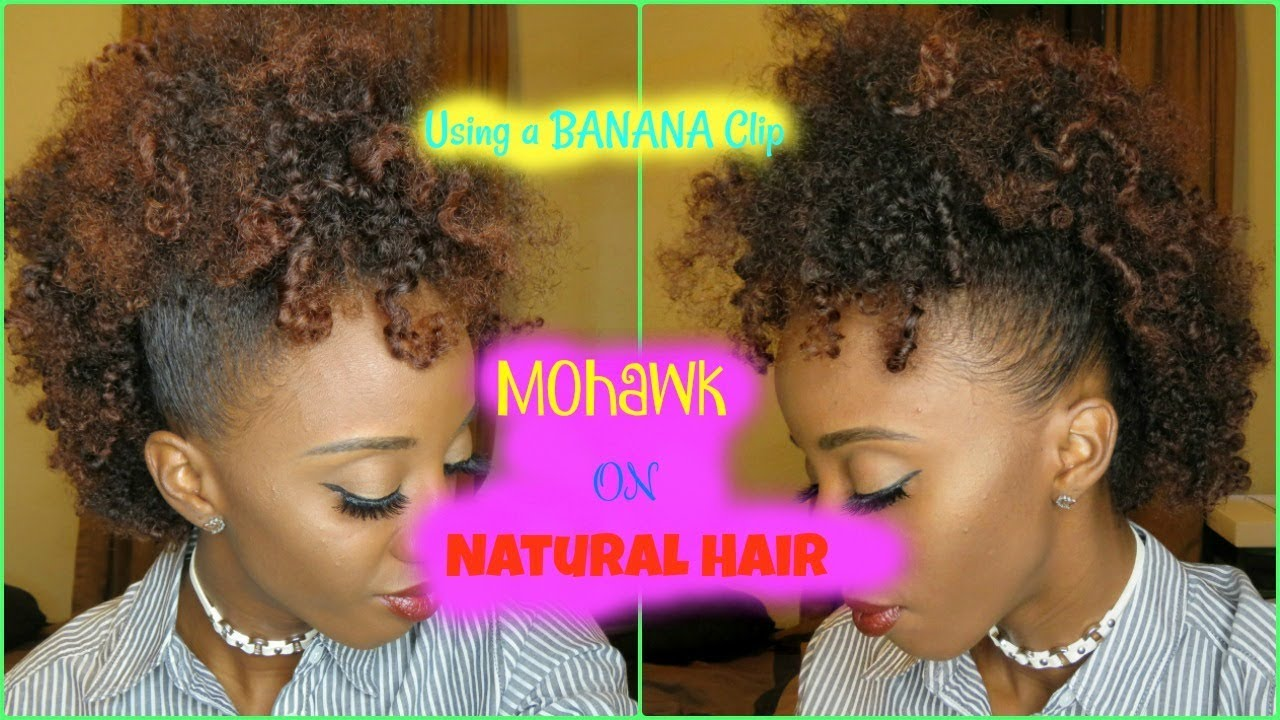 banner library download How to do a. Bananna clip natural hair
