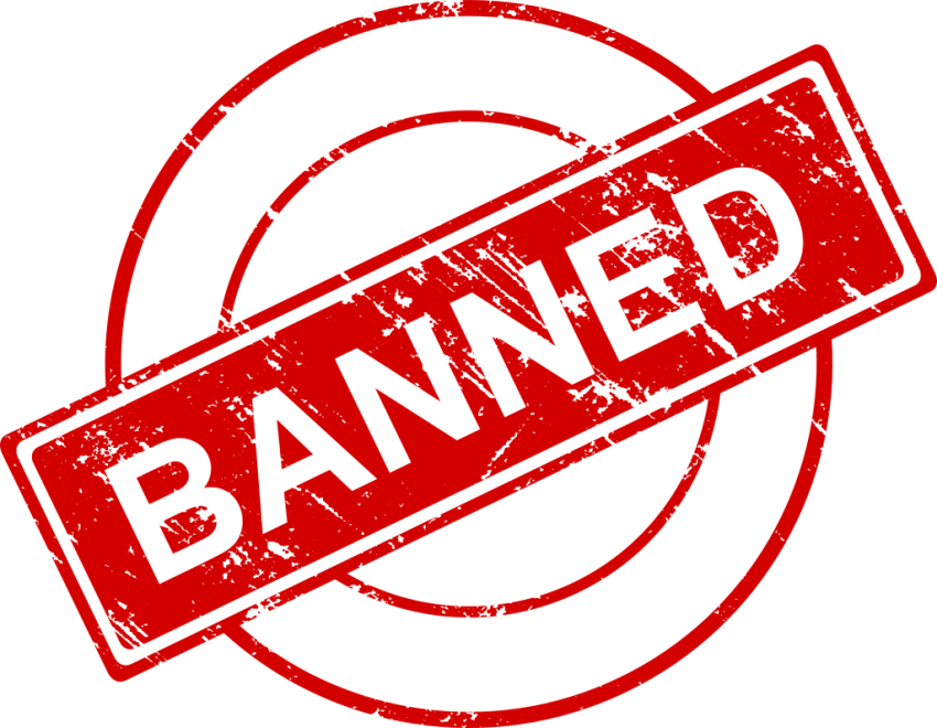clipart download Stamp png free images. Banned transparent