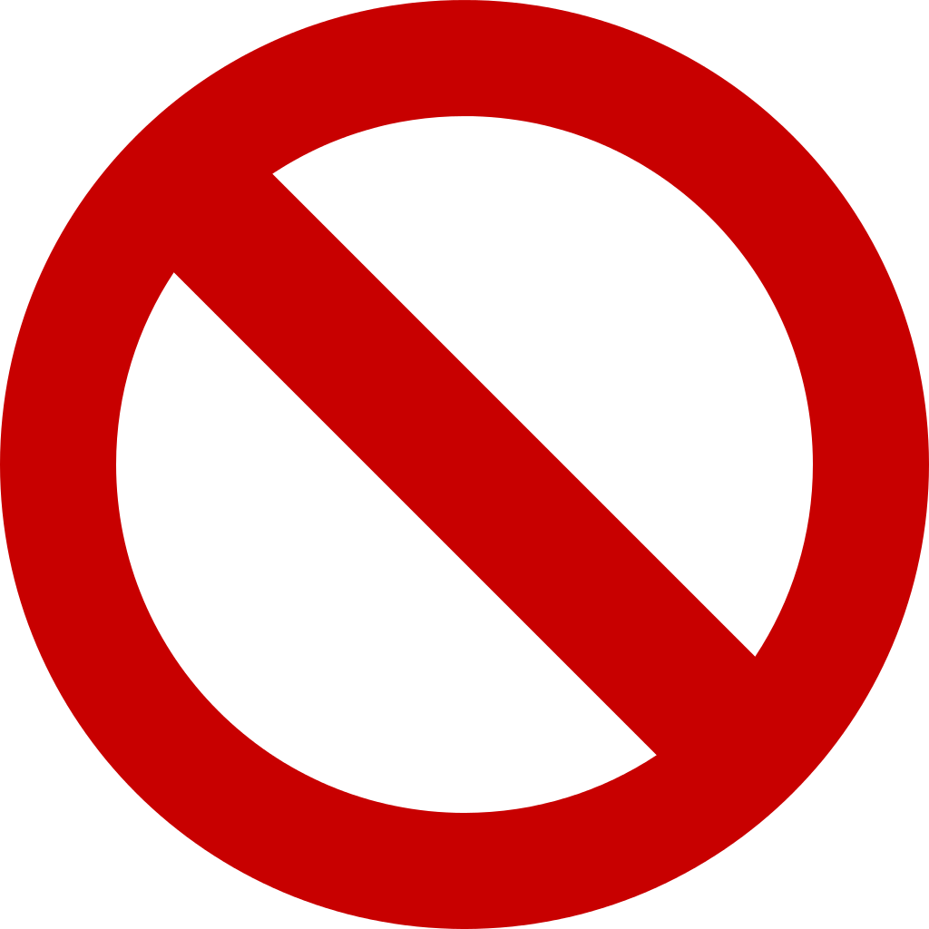 vector royalty free download Forbidden icons png vector. Banned transparent no entry