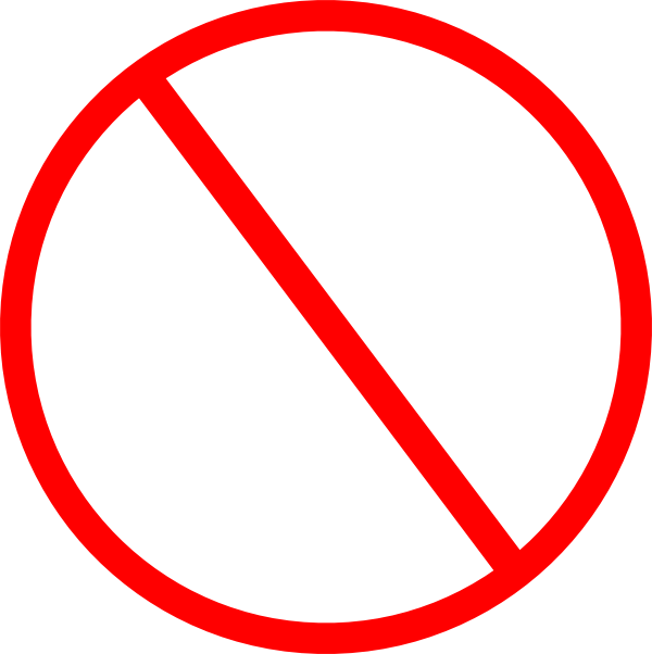 svg black and white library Image png degrassi wiki. Banned transparent prohibited