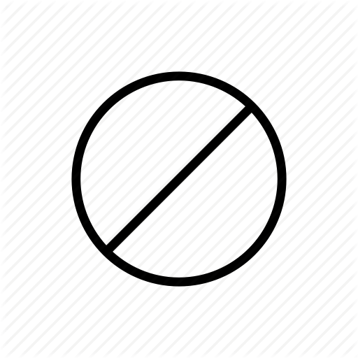 clip art black and white library Banned transparent prohibited. Miscellaneous symbols by neuedeutsche