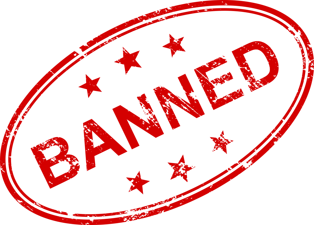 jpg black and white Banned transparent.  stamp vector png