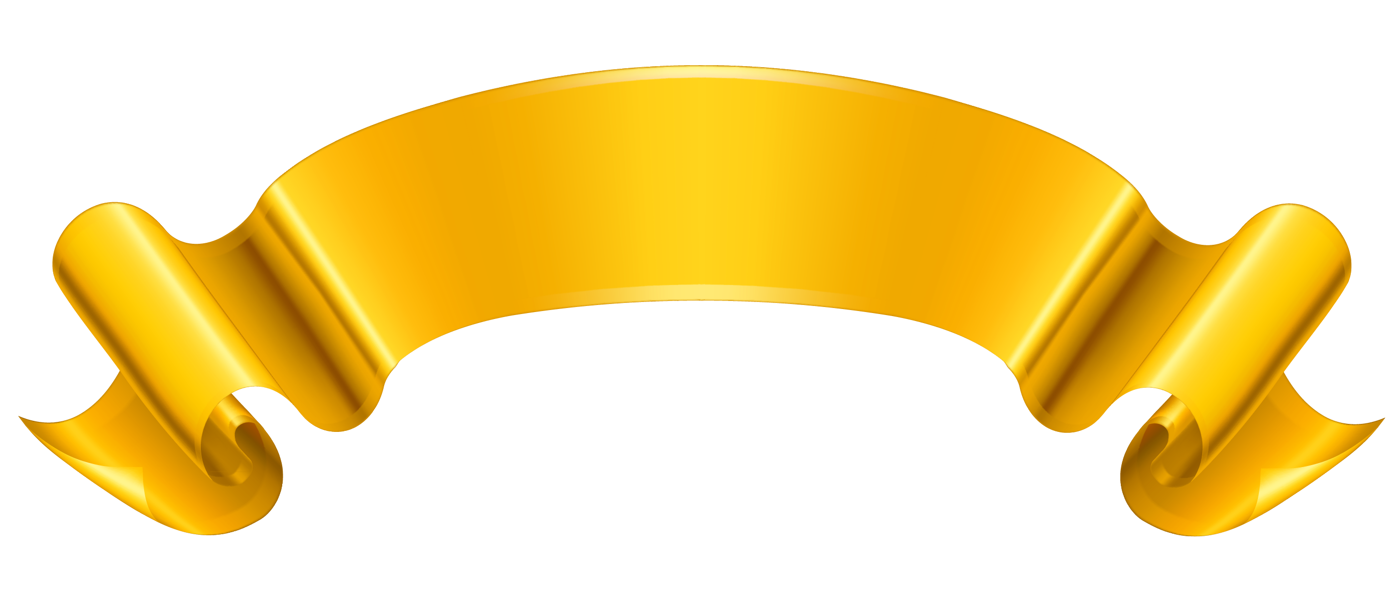 png library download Banner clipart. Gold png picture gallery.