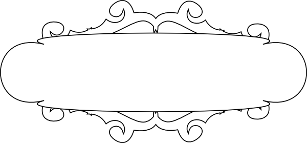 image transparent stock White And Black Banner Clip Art at Clker