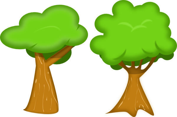jpg library download Forest rg soft svg. Garden clipart trees