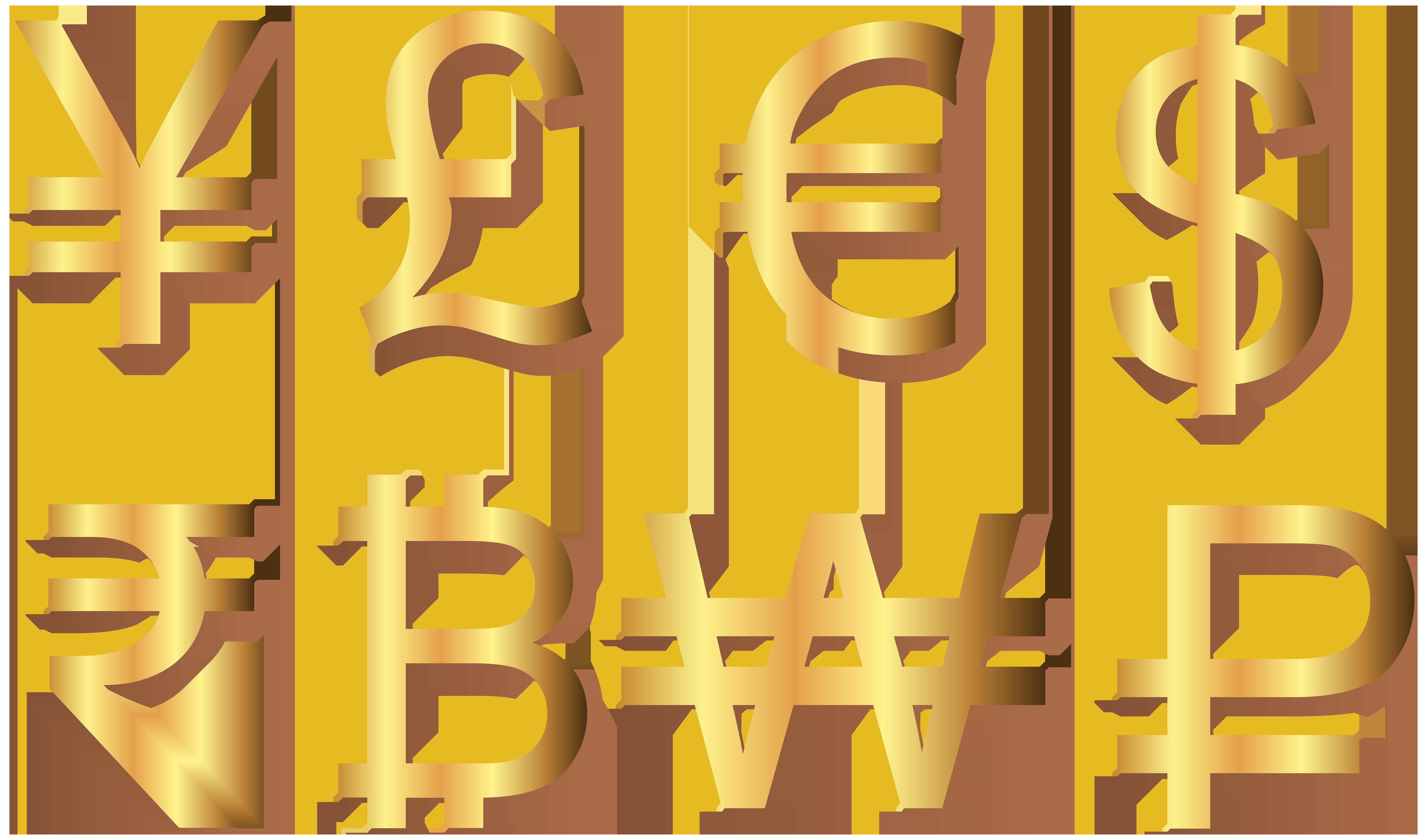 banner transparent stock Banner clipart money. Currency symbols transparent clip.