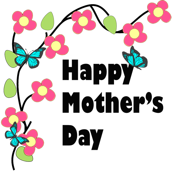 vector transparent Mother s clip art. Banner clipart mothers day