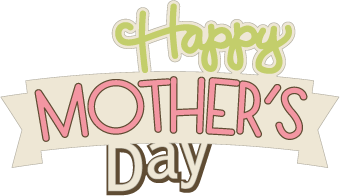 vector free Banner clipart mothers day. Happy small transparent png