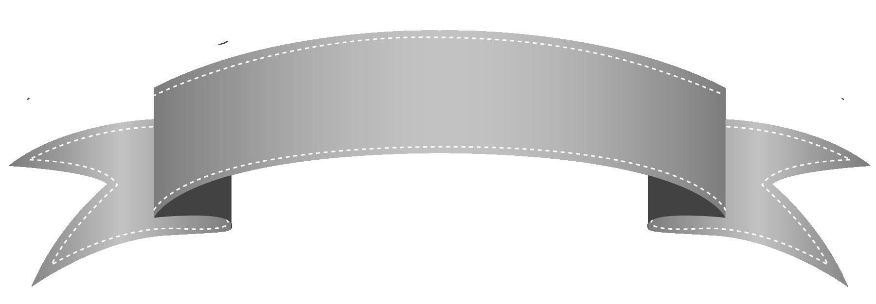 banner silver vector metal banner #103085838