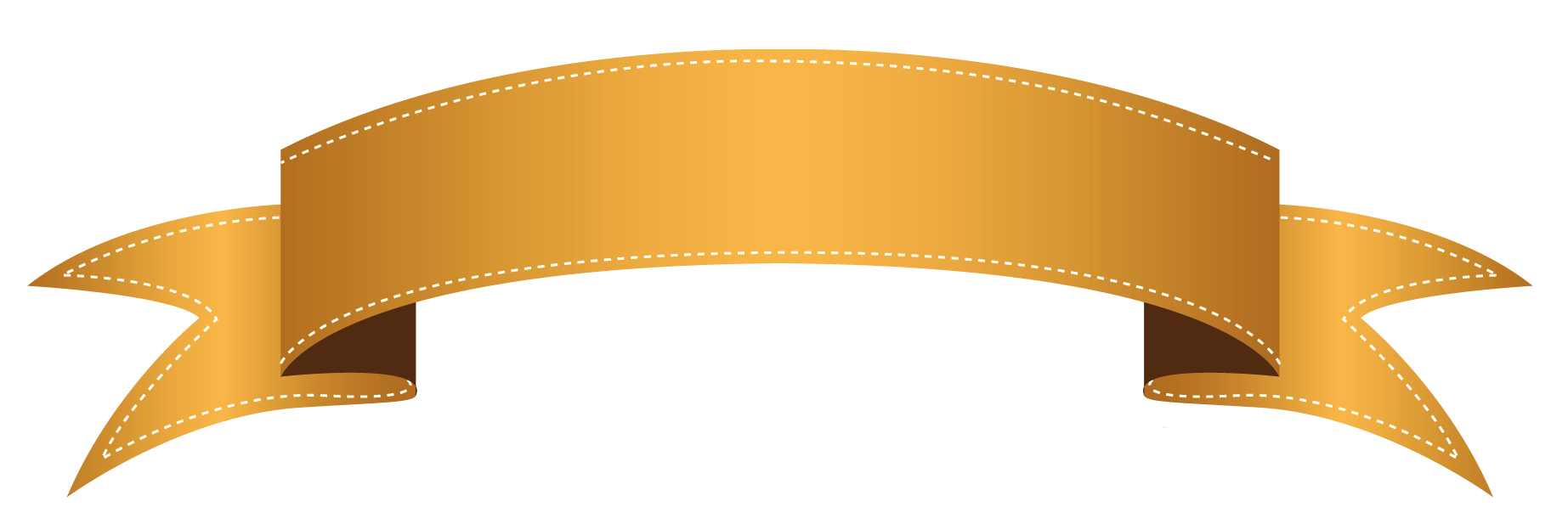 png free stock Banners transparent ribbon. Orange banner png clipart