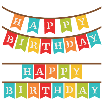 image free download birthday banner clipart