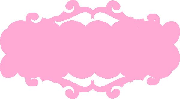 svg transparent Banners clipart. Pink banner clip art