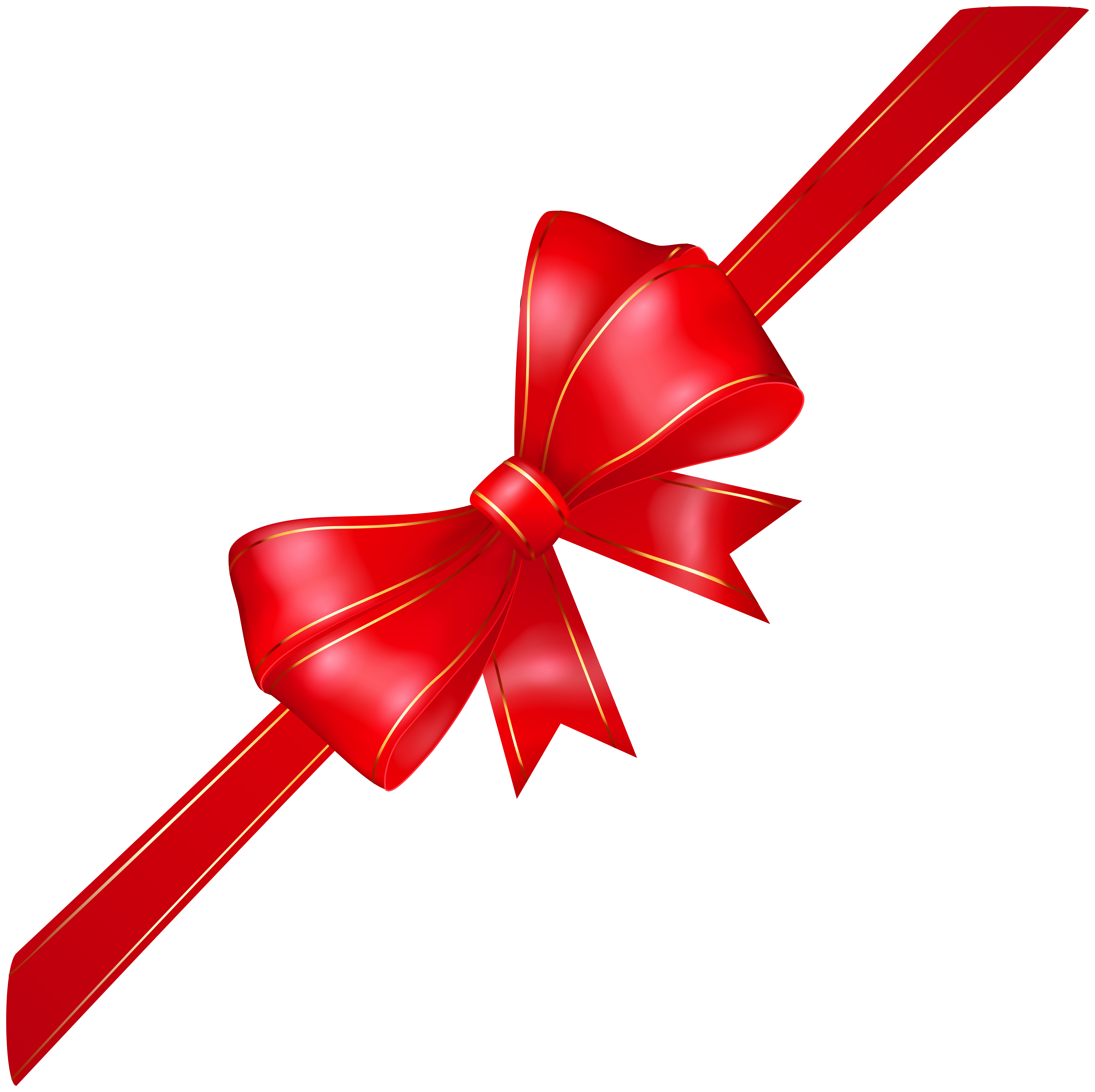 picture royalty free library Red bow png image. Banners transparent corner