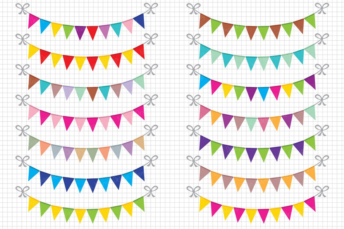 svg free Banners clipart. Bunting party banner