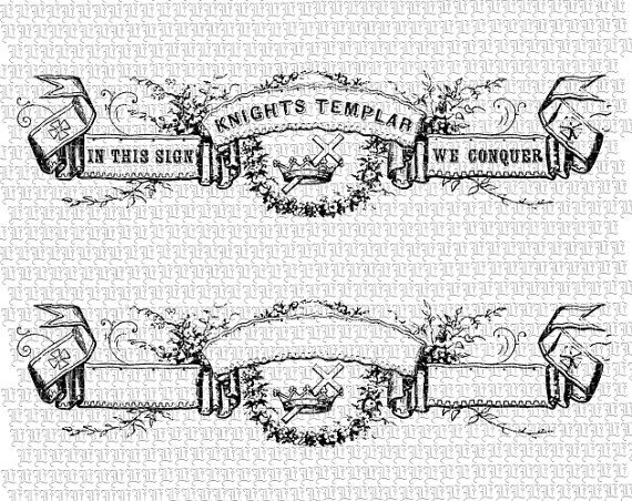 clip library stock Banners drawing victorian. Ribbon blank signs knights