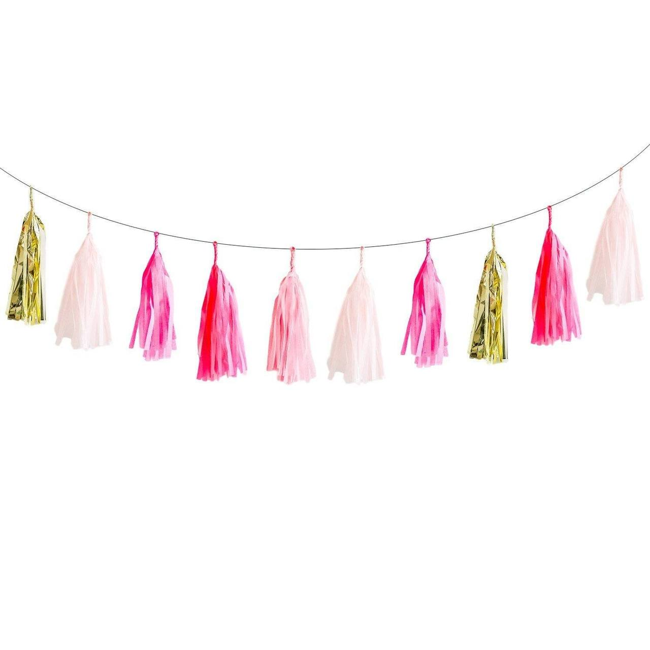 image Lovely lulu garland . Banners transparent tassel