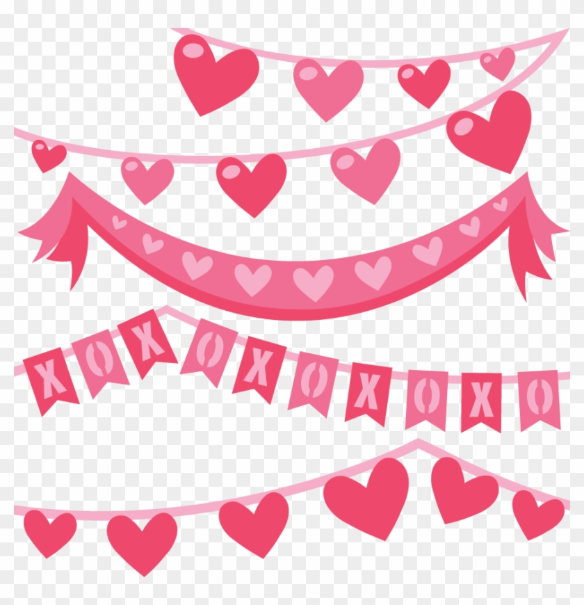 jpg black and white Banners transparent valentine's day. Picture royalty free download