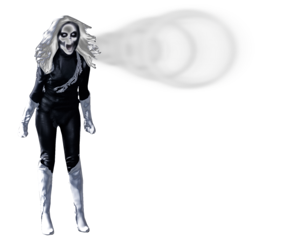 free library Banshee drawing female. Silver transparent by cthebeast
