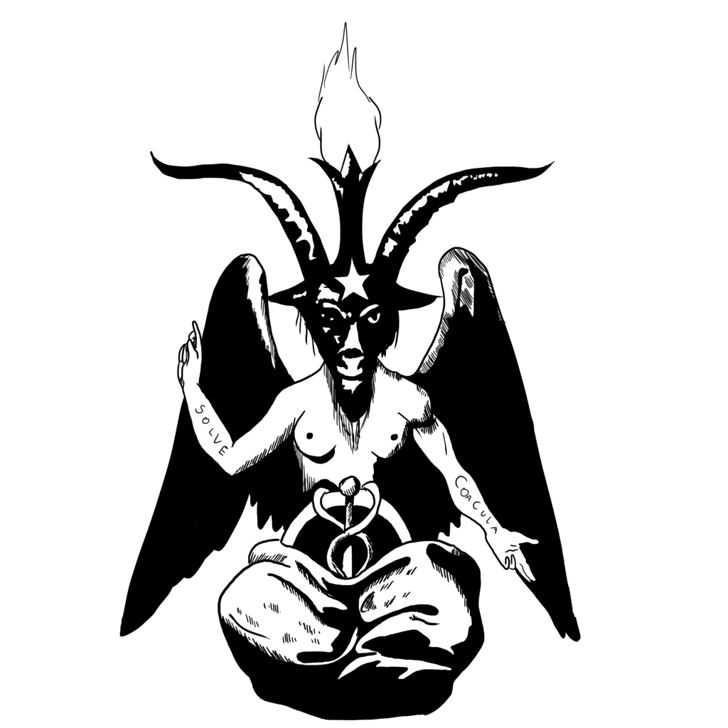 clip freeuse download Baphomet drawing. By xx ayla on