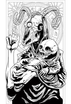 graphic freeuse library Baphomet drawing artwork. Buscar con google art