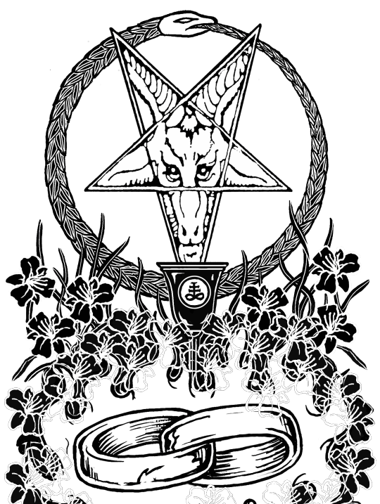 banner transparent download Hell s bells satanic. Baphomet drawing doodle