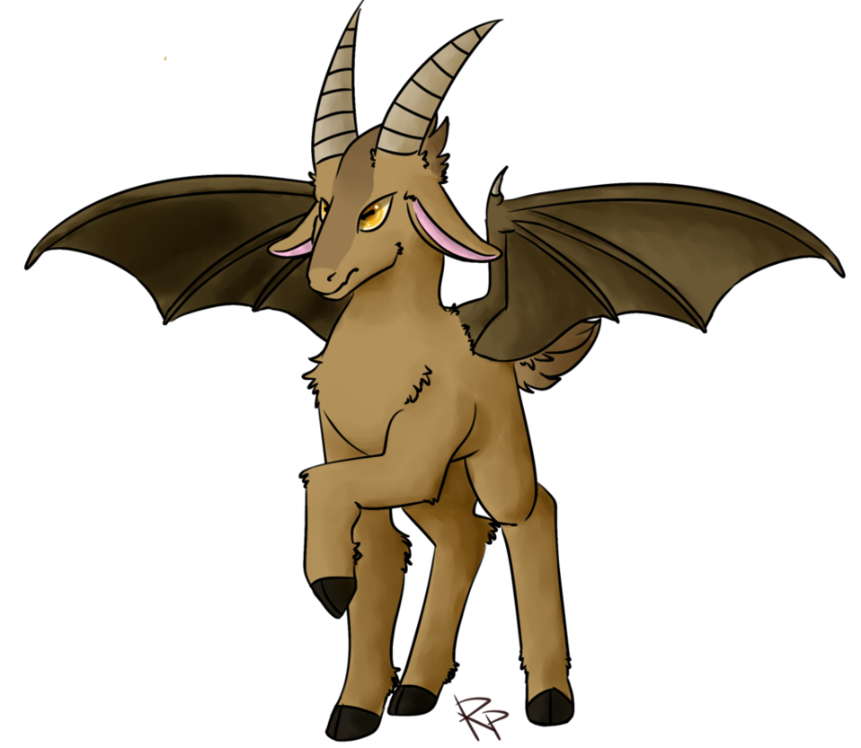 royalty free Baphomet drawing doodle. By red pilgrim on