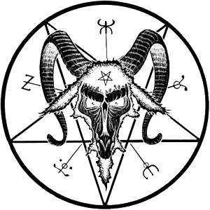 picture library Baphomet drawing skull. Google search doctor satan