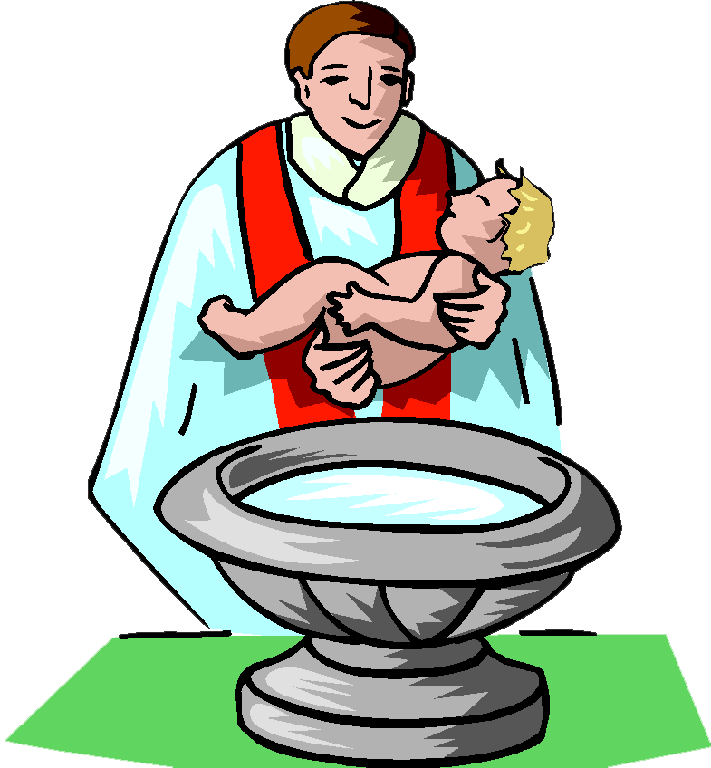 image black and white library Baby kid churches religious. Baptism clipart