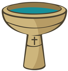 clip art royalty free Baptism clipart. Baptismal font transparent png
