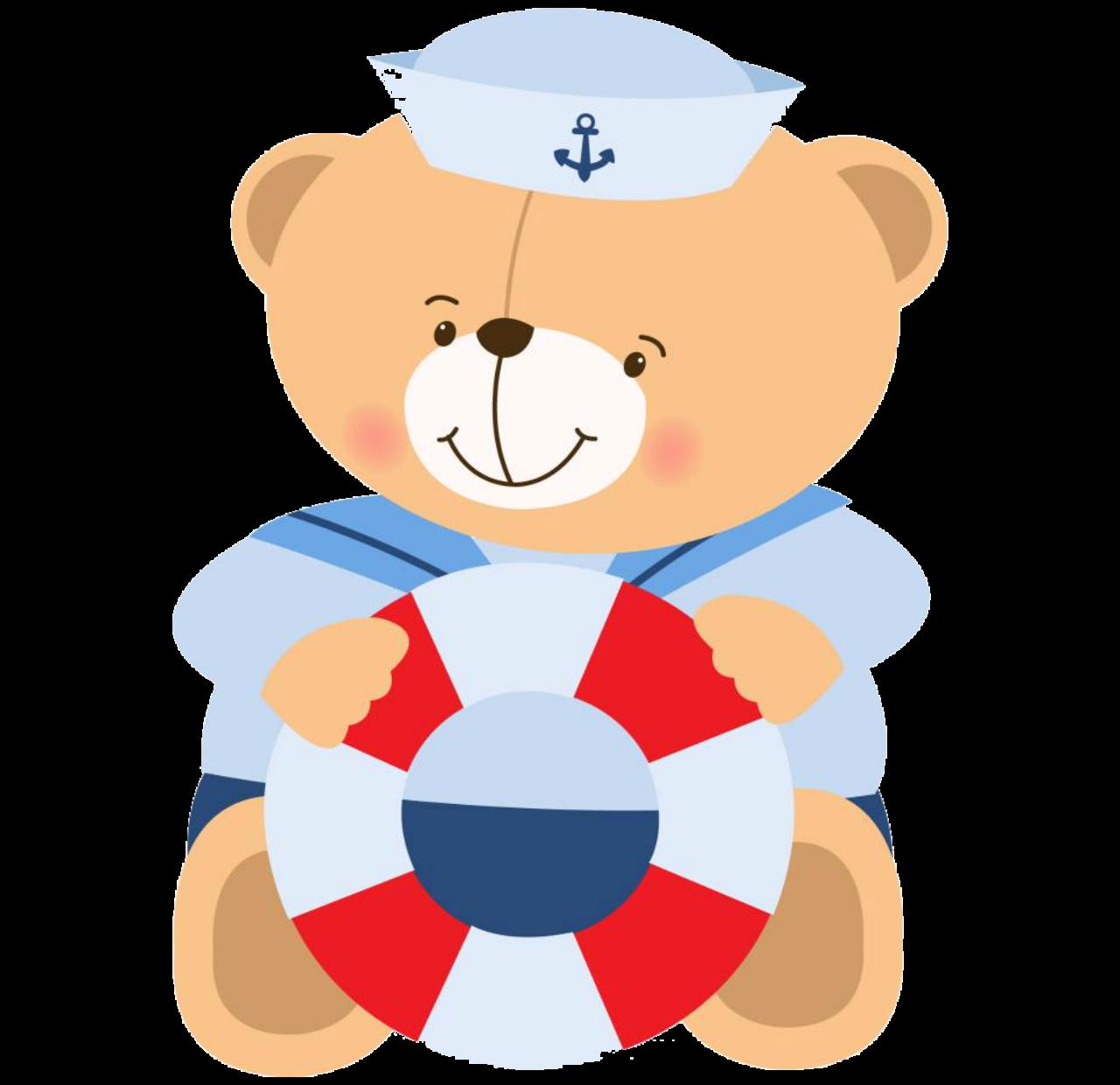 graphic transparent Baptism clipart pretty baby. Sailor bear png imagenes.