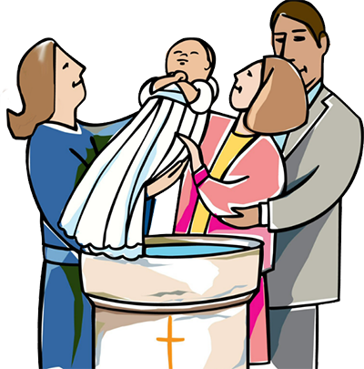 picture black and white stock Baptism Clipart at GetDrawings