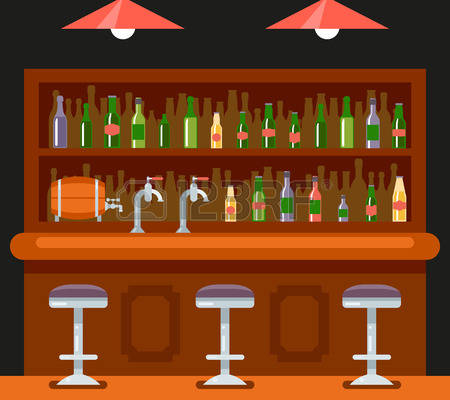 clip art transparent library Bar clipart. Station .