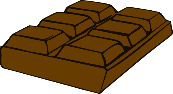 clipart free stock Clip art at clker. Bar clipart chocolate.
