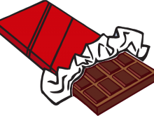 picture freeuse Bar clipart chocolate. Candy free brown wrapper.