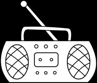 jpg royalty free Radio at getdrawings com. Telegraph drawing easy.