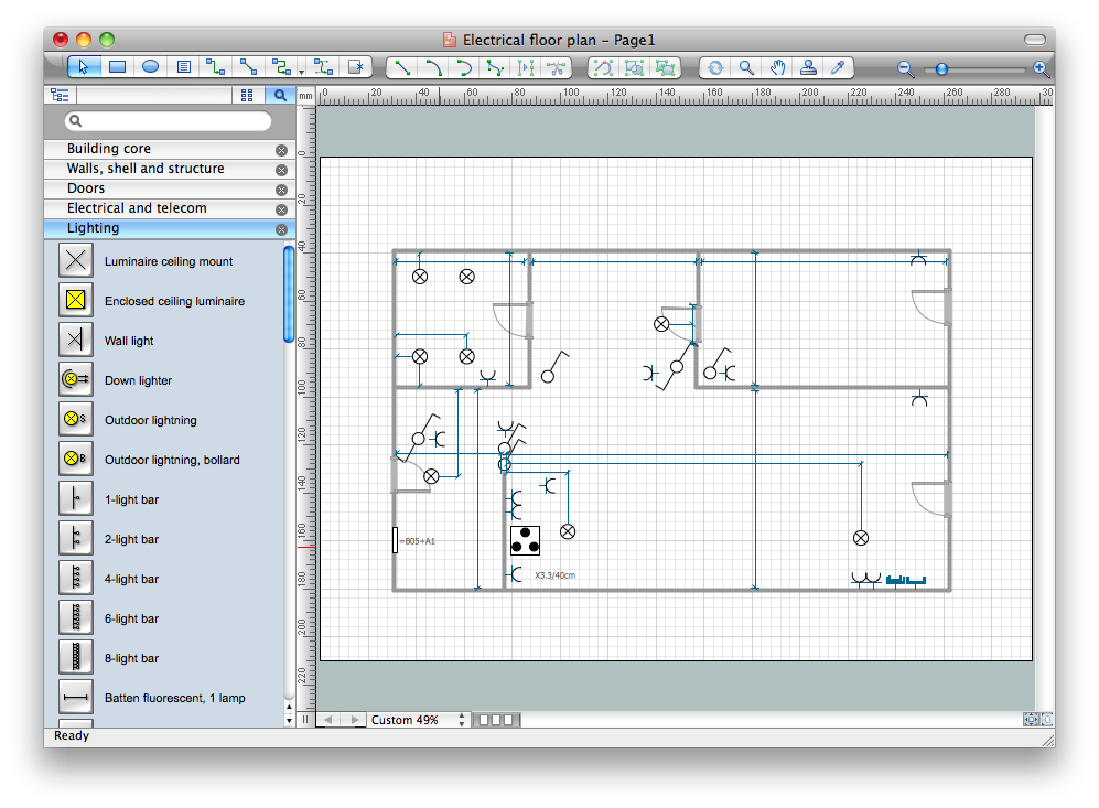clip art royalty free stock Free How To Use House Electrical Plan Software Electrical Drawing