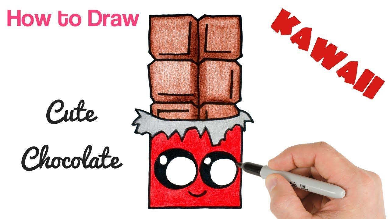 vector download Snack drawing bar. How to draw cute
