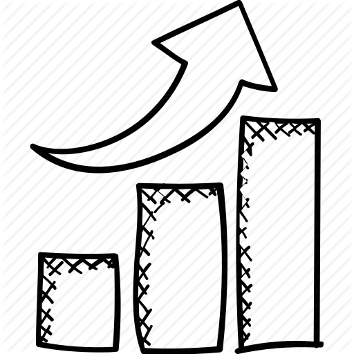 png transparent download Graph clipart black and white. Bar drawing at getdrawings