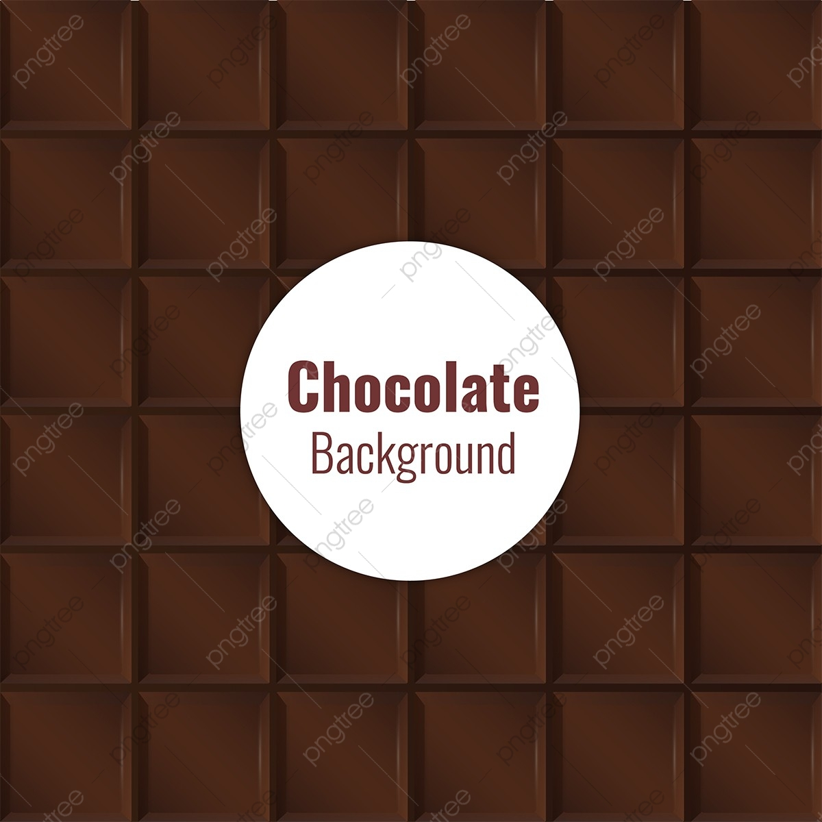 clip stock Chocolate background pattern . Bar vector abstract