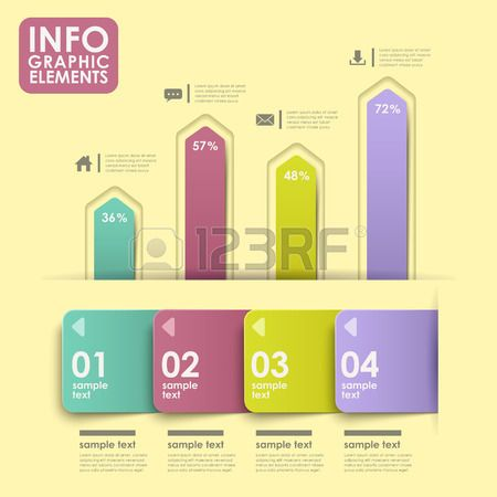 svg library stock Bar vector abstract. Stock beautiful infografics chart