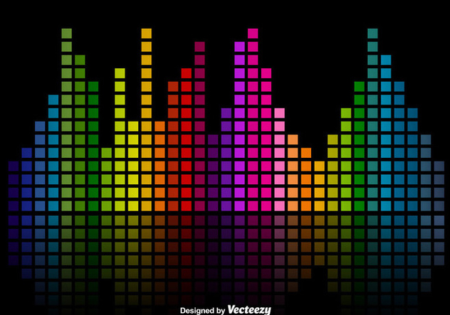 png freeuse stock Bar vector colorful. Music sound bars equalizer