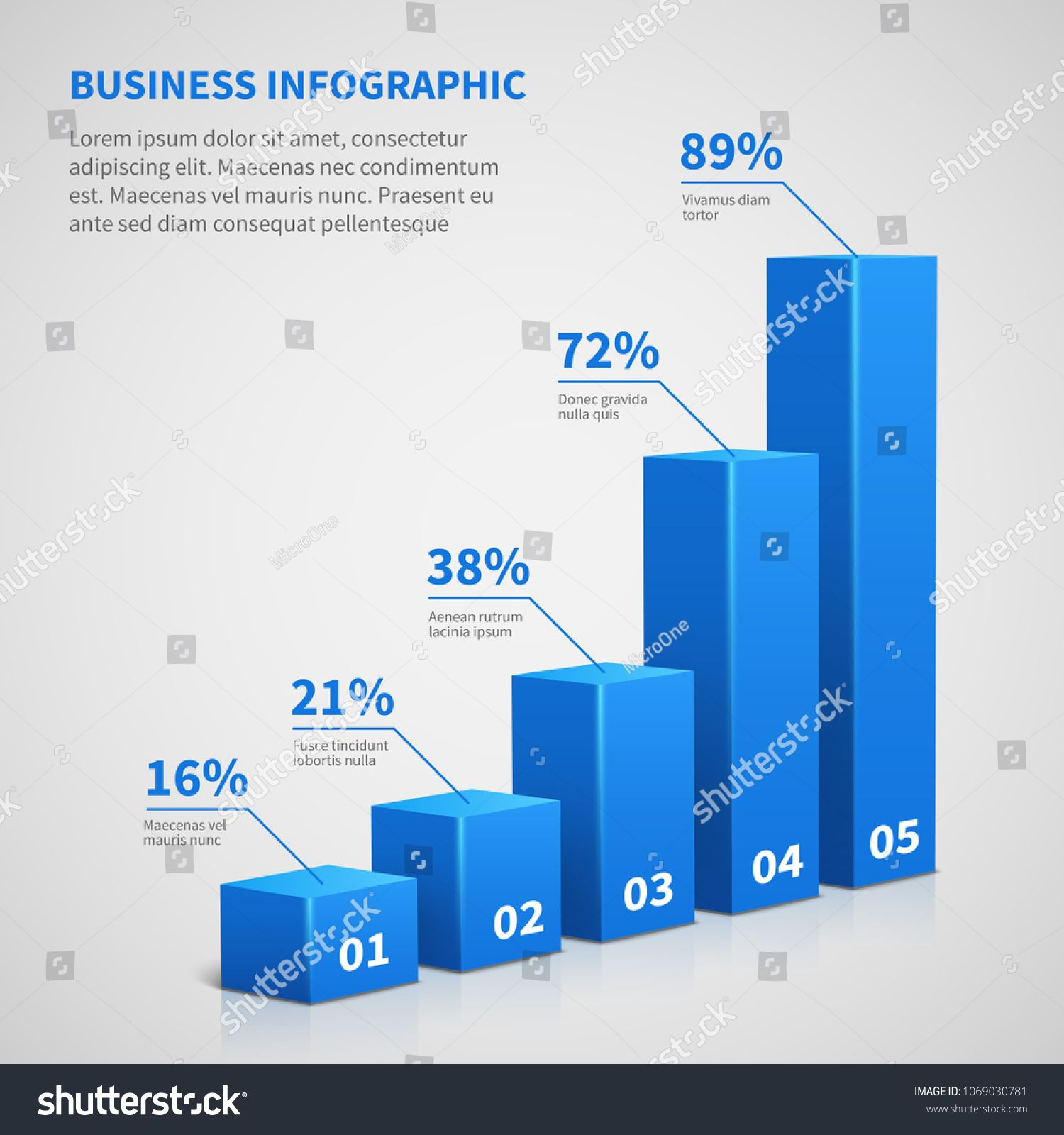 svg black and white Business d graph bar. Vector charts statistics
