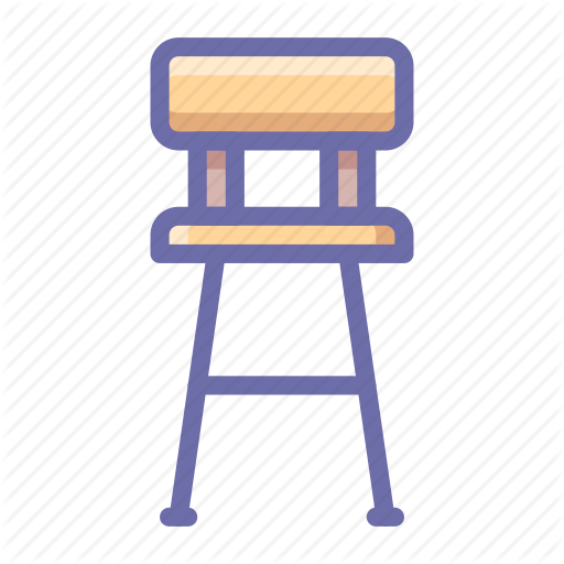 clipart freeuse download Bar vector interior. Chair icon search engine
