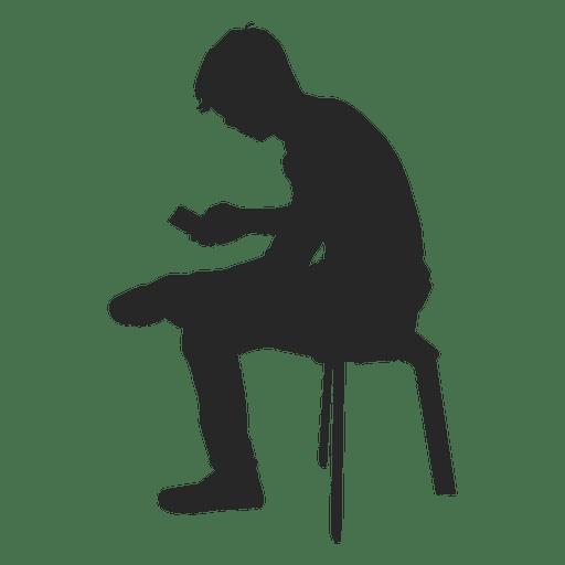 jpg transparent download Desk vector silhouette. Boy sitting on bench.