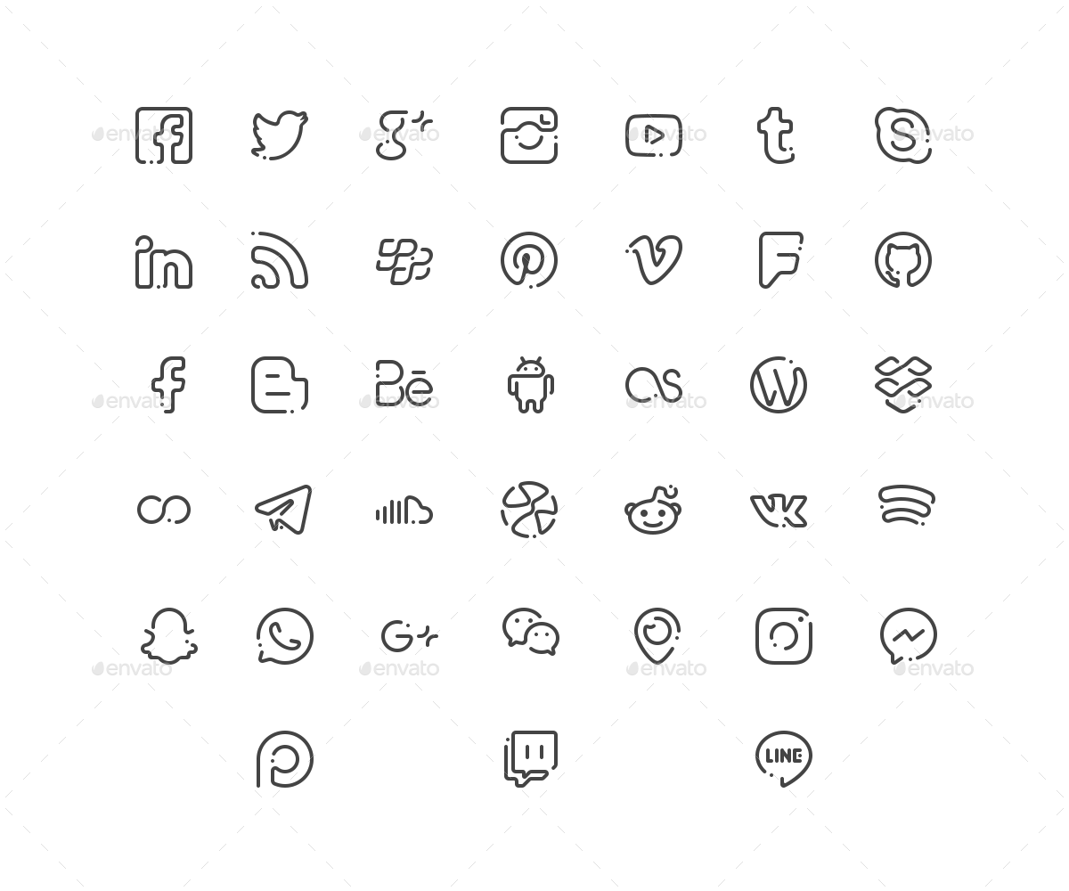 graphic free download Bar vector social media.  icons white png