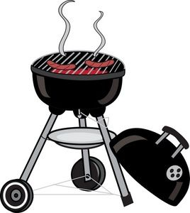 image transparent Grilled clipart outdoor grill. Bbq clip art barbecue