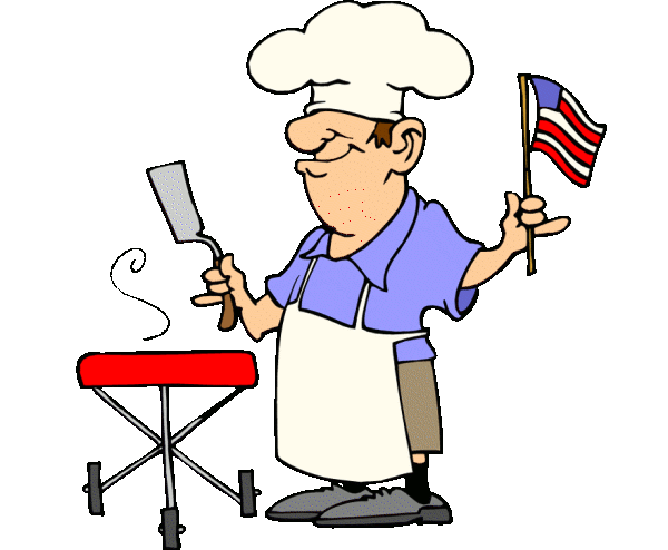 graphic library download Barbecue clipart. September