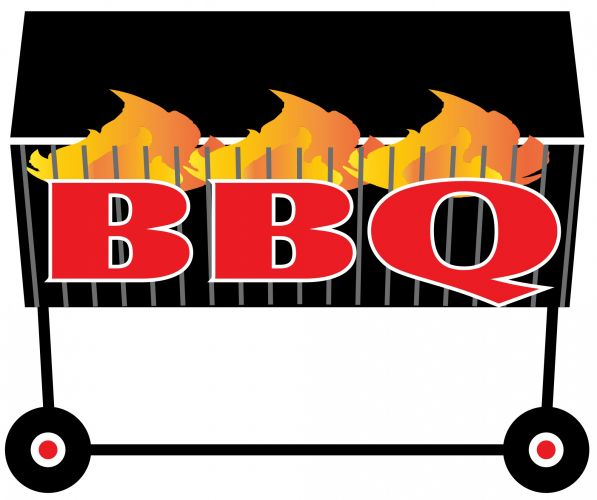 svg download Barbecue clipart bbq lunch. Clip art library .