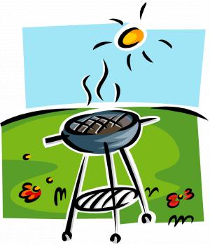 clip royalty free stock Party. Barbecue clipart bbq lunch.